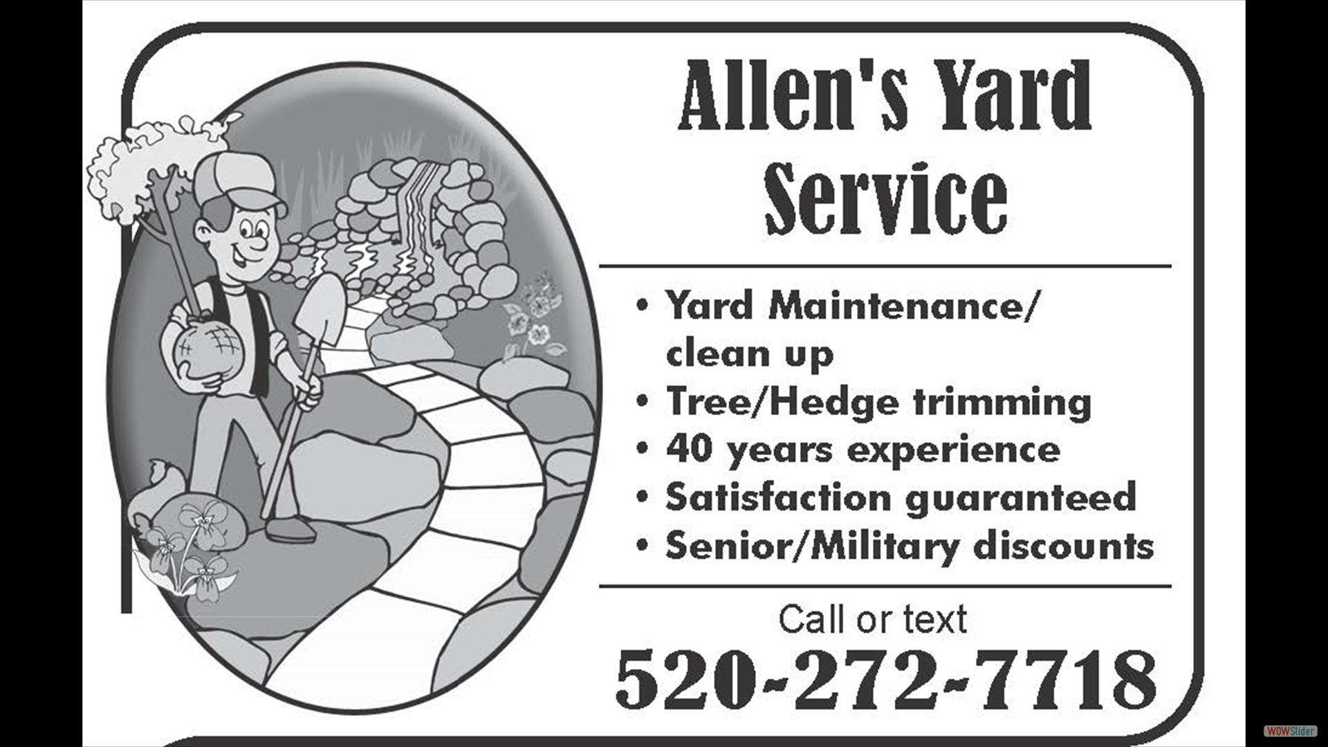 Allen's Yard Service