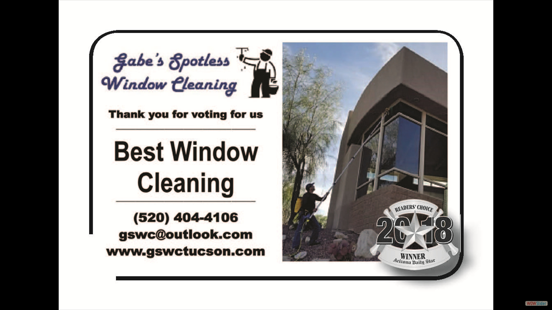 Gabes Spotless Window Cleaning
