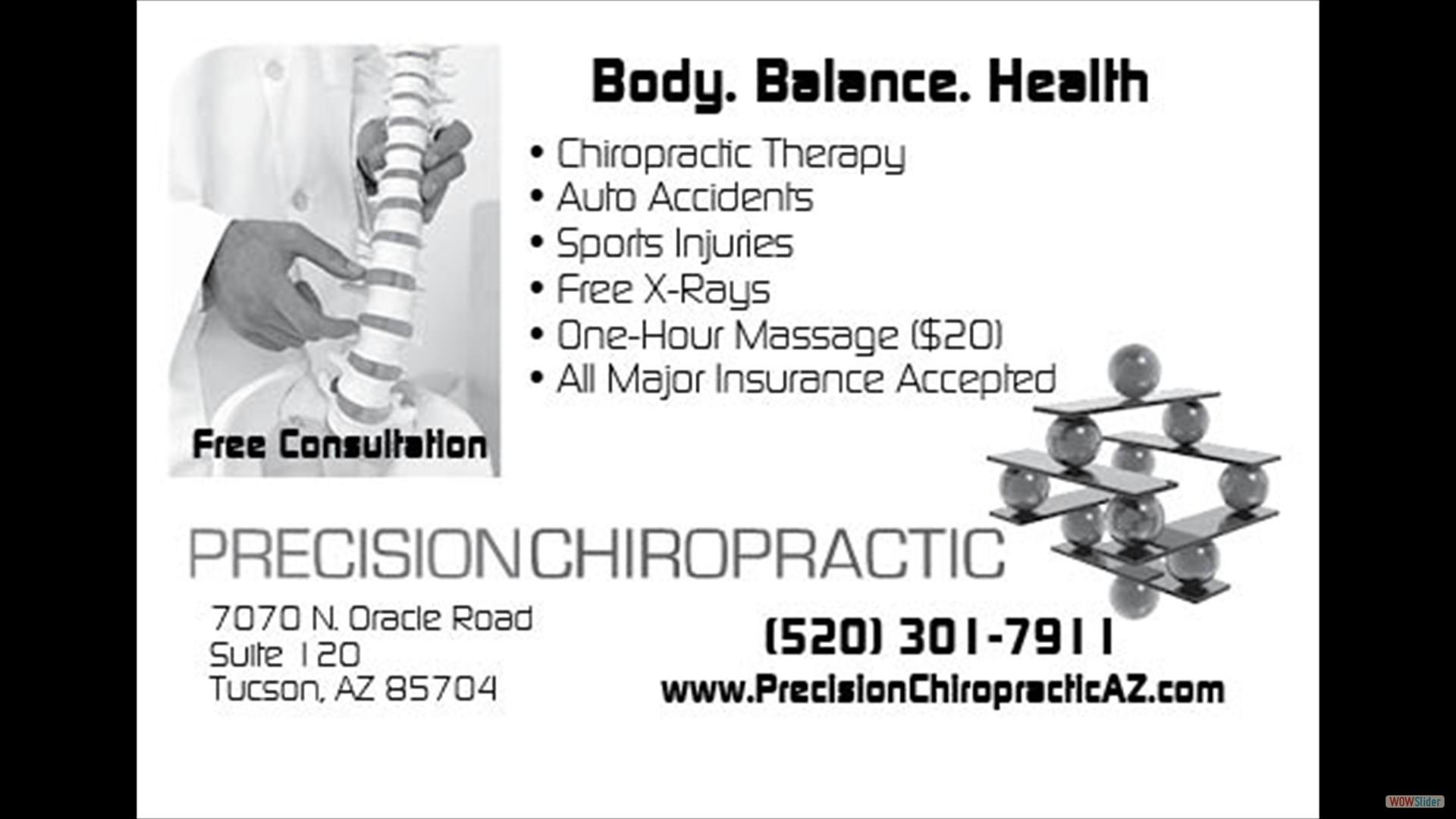 Precision Chiropractic top borderless