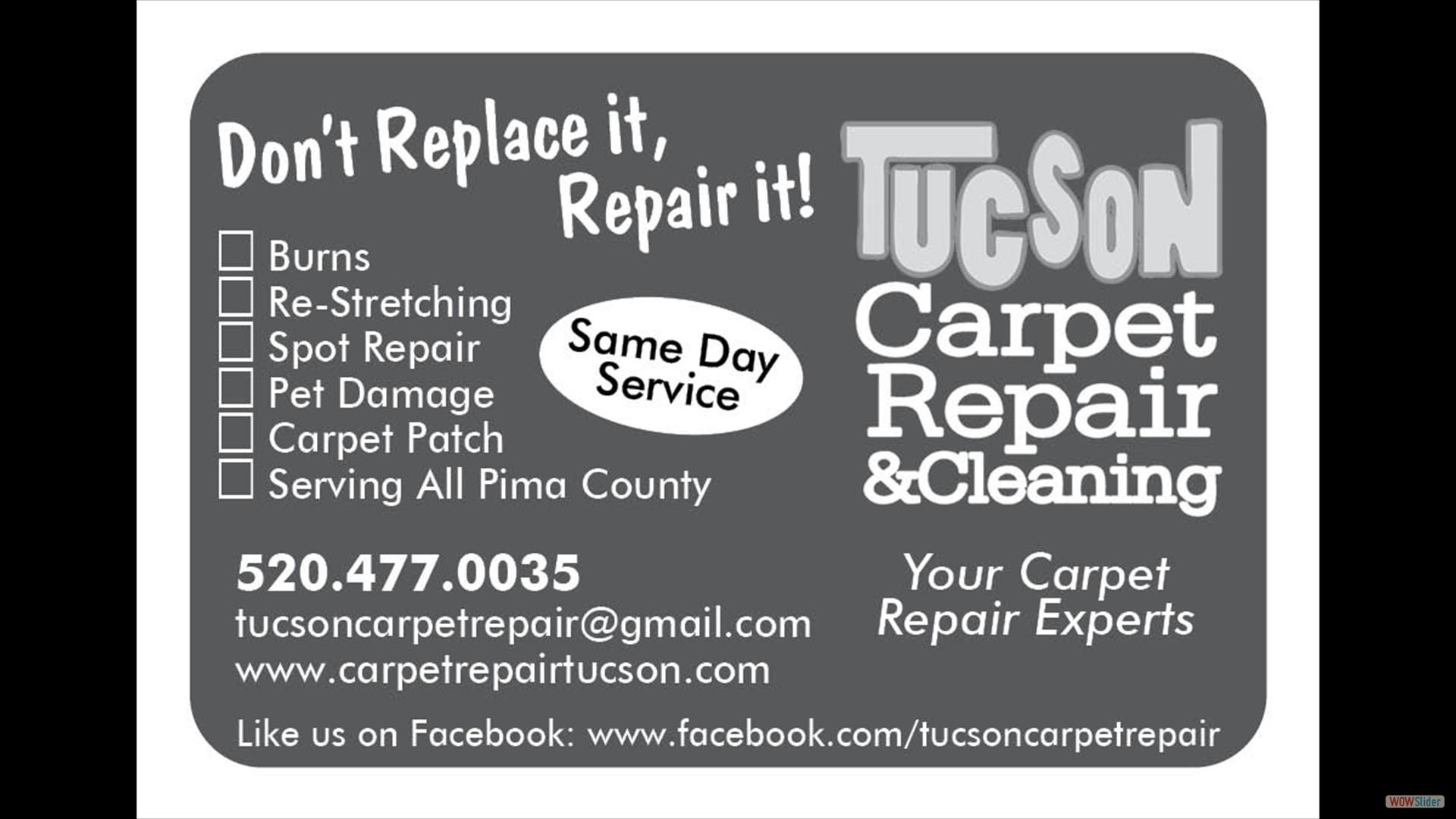 Tucson Carpet Repair