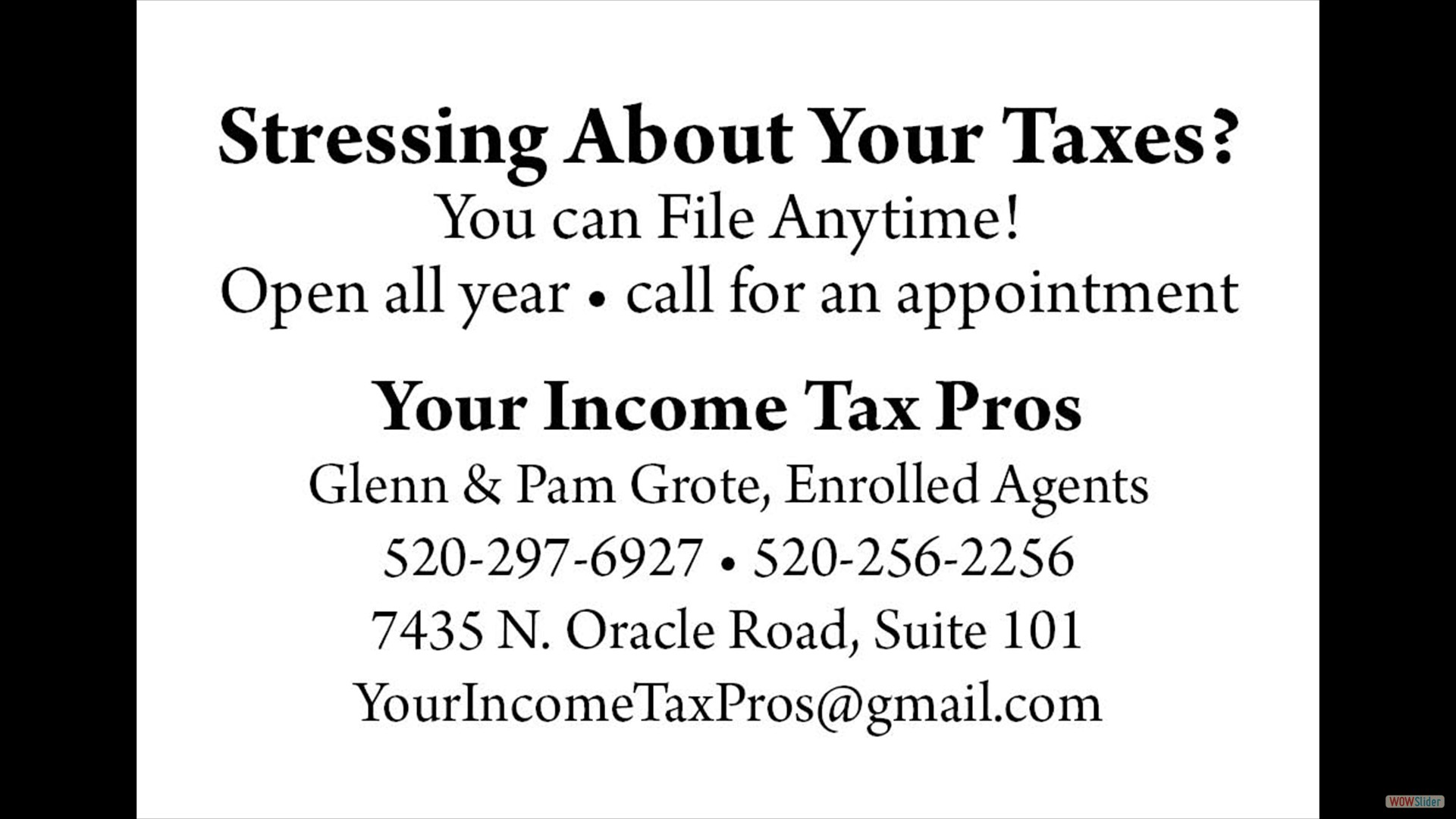 Your Income Tax Pros